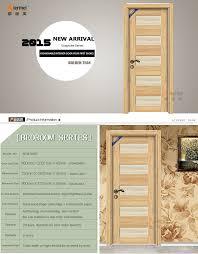 Single Door Design by Hpl Laminate Melamine Interior Door Wooden Single Door Design