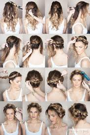 getting fullness on the hair crown braided crown how to sunkissed and made up