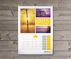 Design Wall Calendar 2015 | 12 sheets monthly wall calendar 2015 template w10 on behance