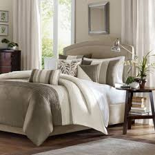 neutral colored bedding buy 7 piece comforter set from bed bath beyond