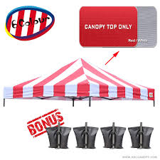 Replacement Canopy by Abccanopy 10x10 Pop Up Canopy Tent Replacement Canopy Top Cover