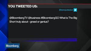 what is u0027the big short u0027 really about bloomberg