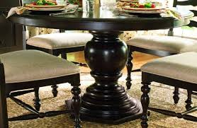 pedestal dining room table sets fabulous table tasty black round pedestal dining and chairs in room