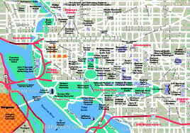 Washington Dc Hotel Map by Washington Dc Maps Top Tourist Attractions Free Printable