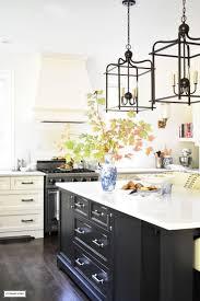lantern lights over kitchen island 270 best farmhouse kitchens images on pinterest kitchen home