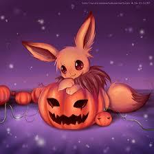 deviantart halloween wallpaper eevee u0027s pumpkin field by sunshineikimaru on deviantart