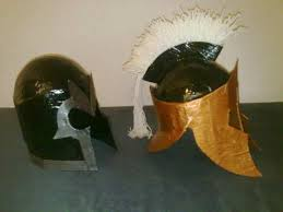 magneto and spartan helmets