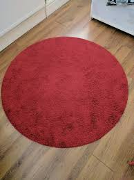 Ikea Underlay For Laminate Flooring Price Reduced Ikea Round Red Rug In Salford Manchester Gumtree