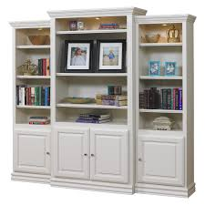 Tall Bookcase With Ladder by Library U0026 Wall Bookcases Hayneedle