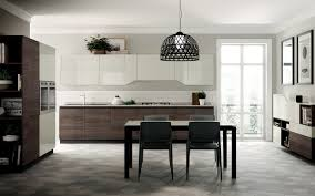 lacquered fitted kitchen flux swing scavolini line by scavolini