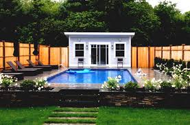 simple pool house floor plans