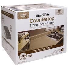 rust oleum countertop transformations desert sand coating kit at