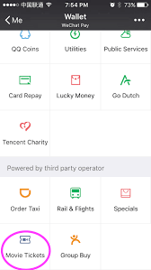 how to buy movie tickets with wechat the beijinger