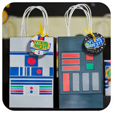 wars gift bags wars favor bags page two birthday wikii