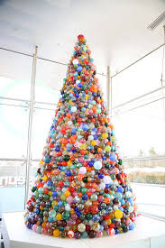 this one of a kind christmas tree is made of 2 000 handmade glass