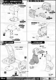 armored trooper votoms 1 20 fatty ground custom english manual u0026 color guide mech9 com