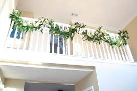 Christmas Railing Decorations Living Room Design Ideas For Small Spaces Christmas Stair