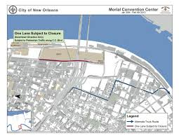 New Orleans Convention Center Map by Street Closures Scheduled For Upcoming Super Bowl New Orleans