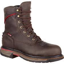 Comfortable Western Boots Rocky Iron Skull Men U0027s Comfortable Lacer Western Boot