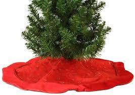 Lighted Christmas Tree Skirt Best Red Christmas Tree Skirt Photos 2017 U2013 Blue Maize