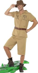 african safari adventure fancy dress costume