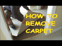 how to remove carpet for laminate hardwood floor installation
