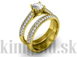snubny prsten sets zásnubný prsteň r095 dámsky prsteň eshop