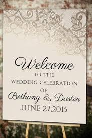 blush u0026 gold lace welcome wedding poster 11x17 18x24 24x36