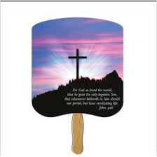 custom church fans religious fans customprintedfans