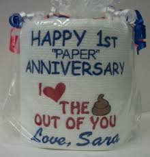 one year wedding anniversary gifts for 1 year wedding anniversary gift ideas for him paper lading for