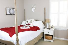 how to trim your bedroom as a winter wonderland life on summerhill