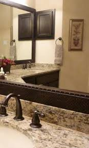 How To Frame A Large Bathroom Mirror by How To Install Frame Around Bathroom Mirror Diy Ideas