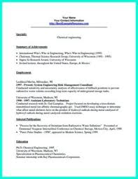 Chemical Engineer Resume Examples by Cool Awesome Secrets To Make The Most Perfect Brand Ambassador