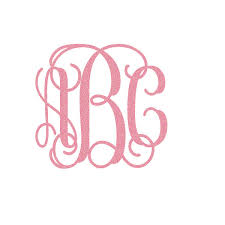 iron on monogram initials 7 best images of monogram vinyl iron on letters glitter iron on