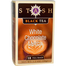 stash tea premium black tea white chocolate mocha 18 tea bags