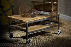 Rustic Coffee Table On Wheels Rustic Coffee Table With Wheels Fashionable Coffee Table