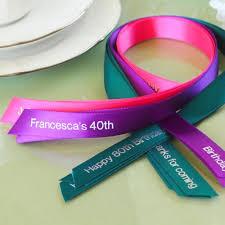 favor ribbons personalized favor ribbon