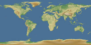 Map Of The Earth Imagico De Elevation Data Search