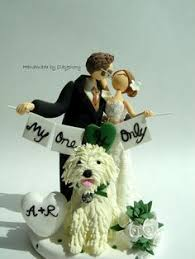 wedding cake topper with dog amazing and wedding cake toppers weddings wedding