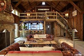 Log Home Decor Catalogs Put A Swing Inside Your House This Post And Beam Yankee Barn