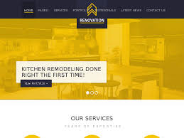 renovation theme renovation construction company theme best web design inspiration