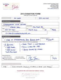 Non Profit Donation Receipt Letter Silent Auction Forms The Essential List