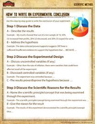 how to write a conclusion u2013 scientific method worksheet u2013