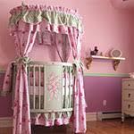 round crib bedding and nursery kid sets at poshtots