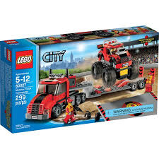 Lego Vehicles Monster Truck Transporter Walmart