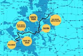 best driving route from denver to telluride and things to see