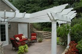 Attached Patio Cover Designs Pergola And Patio Cover Ideas Landscaping Network