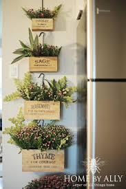 Kitchen Herb Garden Design 541 Best Vertical Gardening Images On Pinterest Gardening