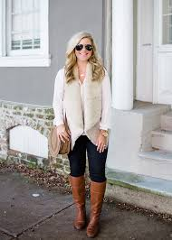 thanksgiving vest fur vest thanksgiving ideas the southern style guide