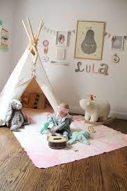 chambre indienne d馗oration tipi pour une chambre d enfant inspiration déco clematc